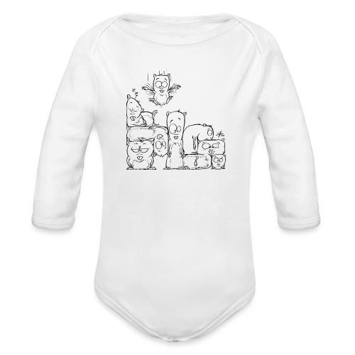 hamstris - Baby Bio-Langarm-Body