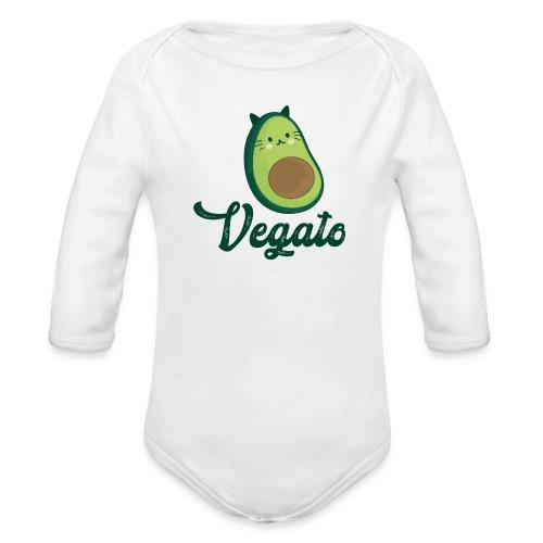 Vegato - Body orgánico de manga larga para bebé