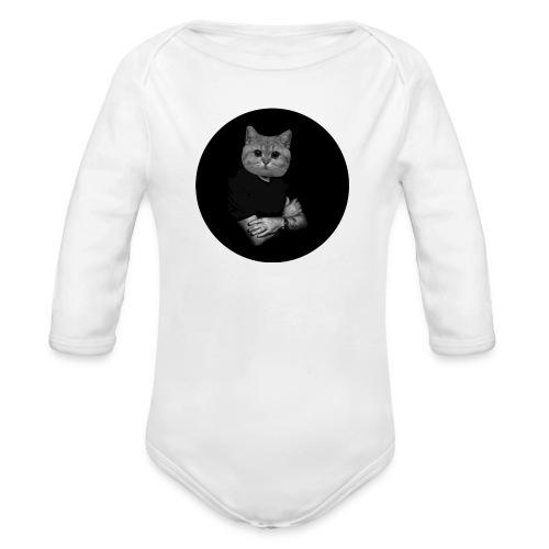 Starecat Co ja pacze - Ekologiczne body niemowlęce z długim rękawem