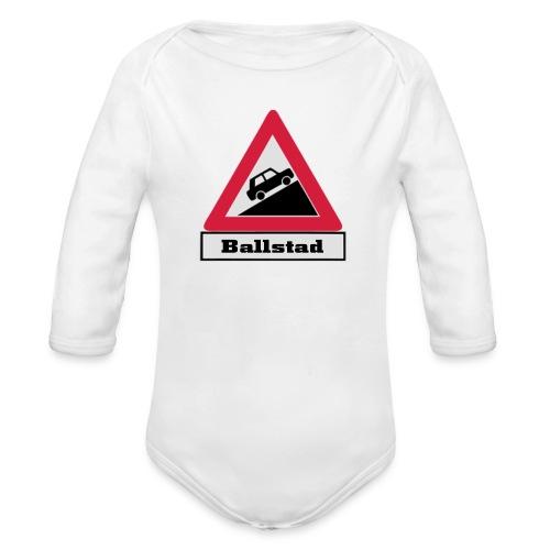 brattv ballstad a png - Økologisk langermet baby-body