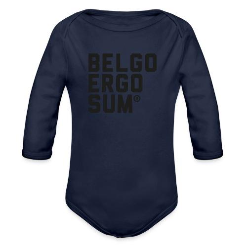 Belgo Ergo Sum - Organic Longsleeve Baby Bodysuit