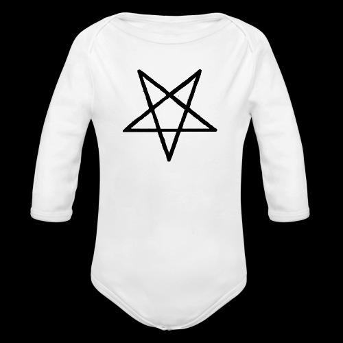 Pentagram2 png - Baby Bio-Langarm-Body