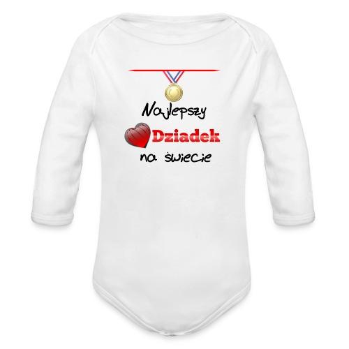 nadruk_rodzinne_01 - Ekologiczne body niemowlęce z długim rękawem