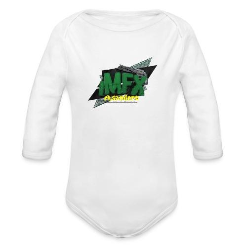 [*iMfx] elsandero - Body ecologico per neonato a manica lunga