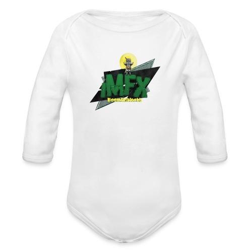 [iMfx] Lubino di merda - Body ecologico per neonato a manica lunga