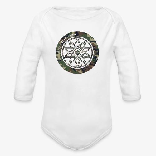 BSC F- Sign Camo II - Body ecologico per neonato a manica lunga