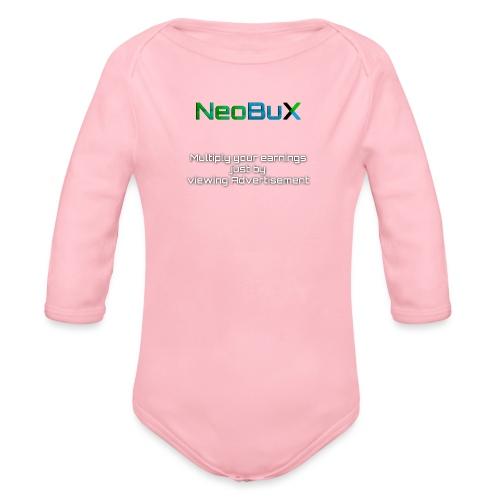 NeoBuX - Organic Longsleeve Baby Bodysuit