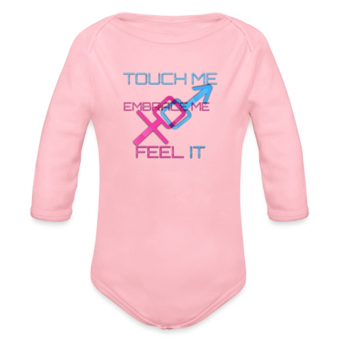 Sex and more up to - Organic Longsleeve Baby Bodysuit