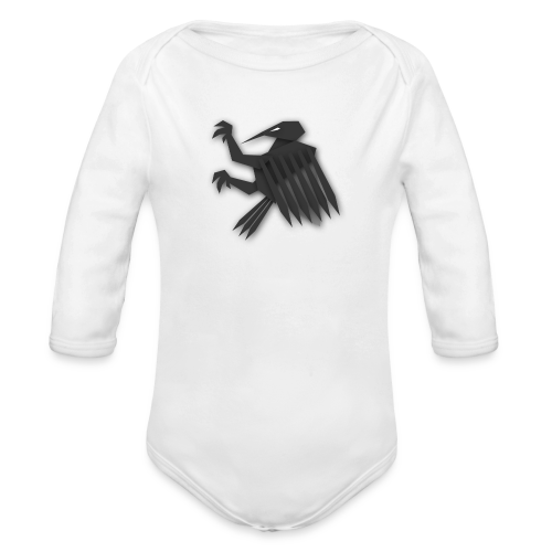 Nörthstat Group ™ Black Alaeagle - Organic Longsleeve Baby Bodysuit