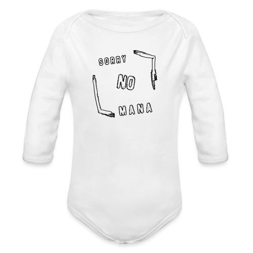 Sorry no mana DONNA - Body ecologico per neonato a manica lunga