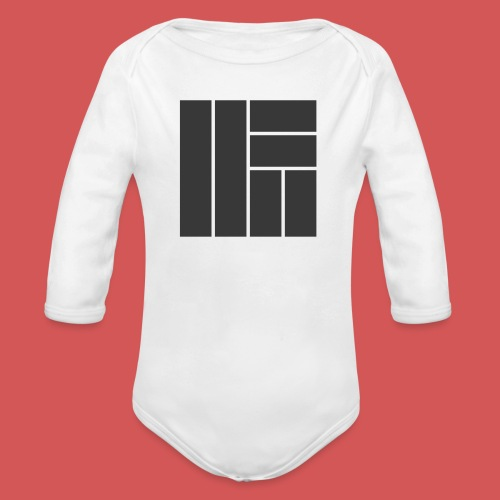 NÖRCup Black Iconic Edition - Organic Longsleeve Baby Bodysuit