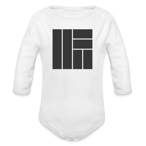 NÖRCup Black Iconic Edition - Organic Longsleeve Baby Bodysuit