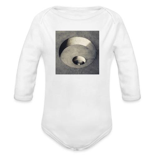rings of holes - Body ecologico per neonato a manica lunga