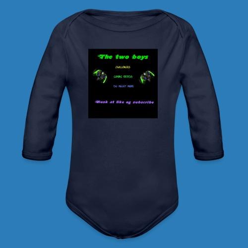 LUISJAKUBINTRO-jpg - Langærmet babybody, økologisk bomuld