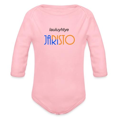 JaRisto Lauluyhtye - Vauvan pitkähihainen luomu-body
