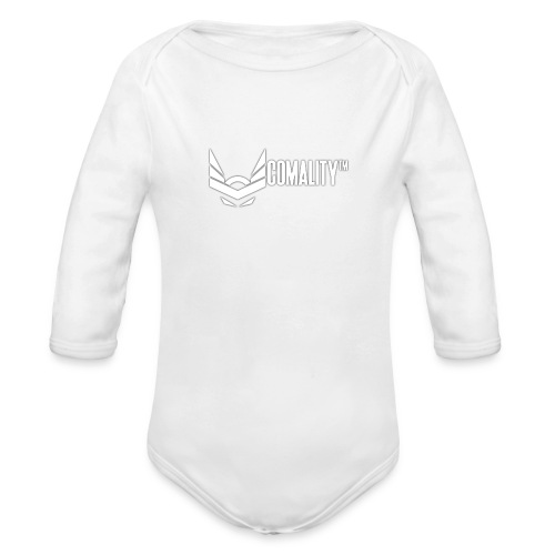 T-SHIRT | Comality - Baby bio-rompertje met lange mouwen