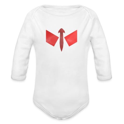 butterfly-png - Baby bio-rompertje met lange mouwen