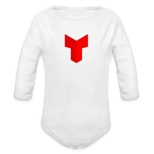 redcross-png - Baby bio-rompertje met lange mouwen