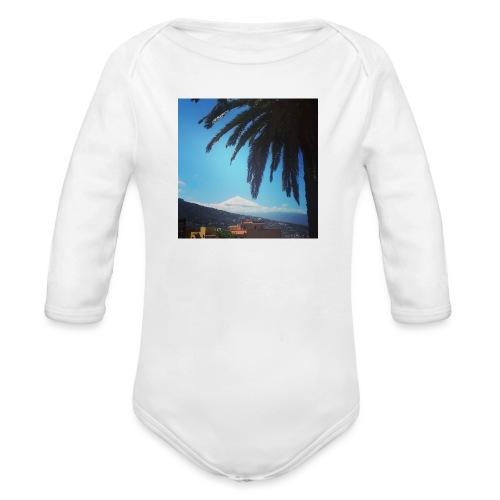 Islas Tenerife - Body ecologico per neonato a manica lunga