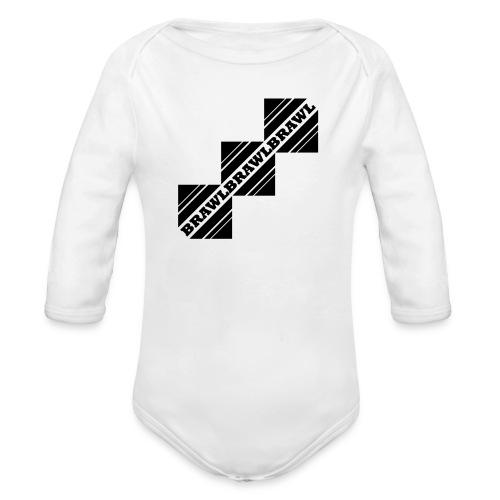 BRAWL TEST - Baby bio-rompertje met lange mouwen