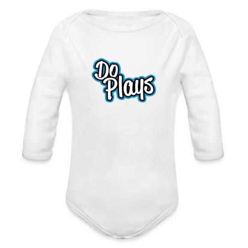 Vrouwen T-Shirtje | DoPlays - Baby bio-rompertje met lange mouwen