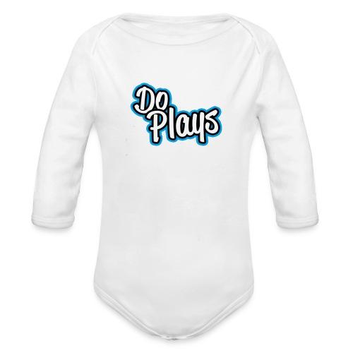 Mok | Doplays - Baby bio-rompertje met lange mouwen