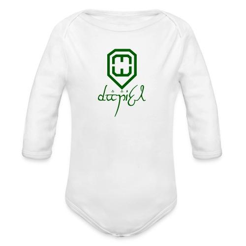 Cup logo Dan - Organic Longsleeve Baby Bodysuit