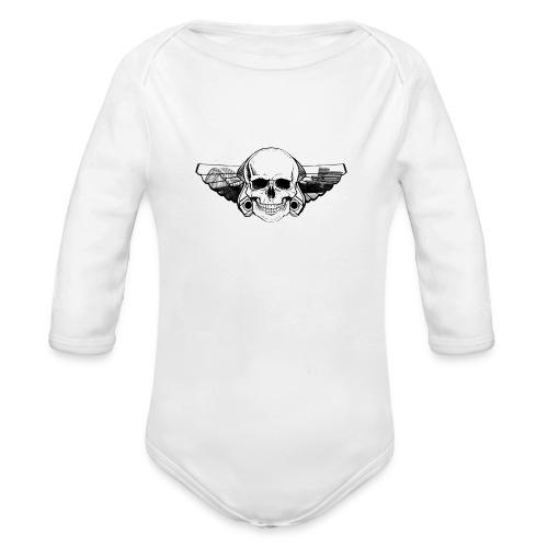 RSSC Crew - Baby bio-rompertje met lange mouwen