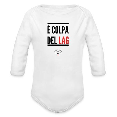Cover 5/5s - Body ecologico per neonato a manica lunga
