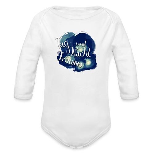 Tag- und Nachtträumer - Baby Bio-Langarm-Body