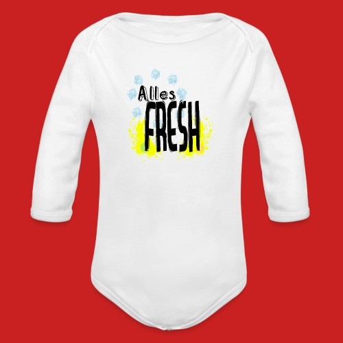 Alles Fresh / Frisch Sommer Eis - Baby Bio-Langarm-Body