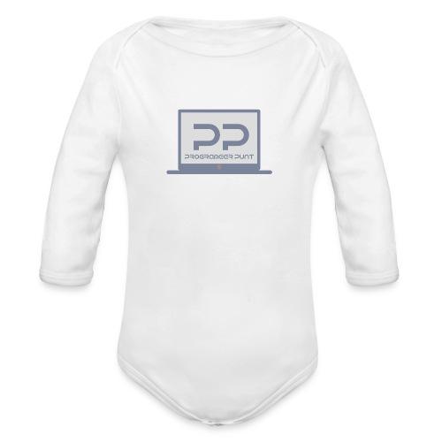 muismat met logo - Baby bio-rompertje met lange mouwen