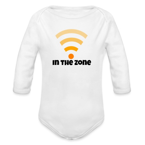 In the zone women - Baby bio-rompertje met lange mouwen