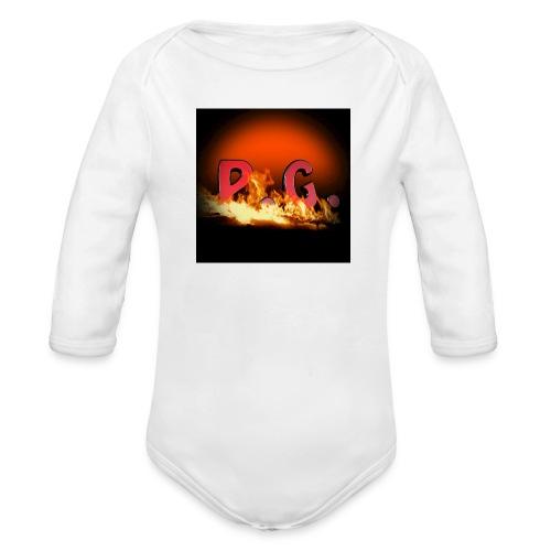 Spilla PanicGamers - Body ecologico per neonato a manica lunga