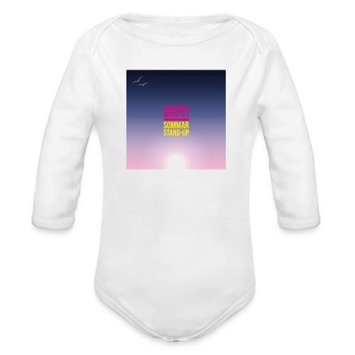 T-shirt dam Skärgårdsskrattet - Ekologisk långärmad babybody
