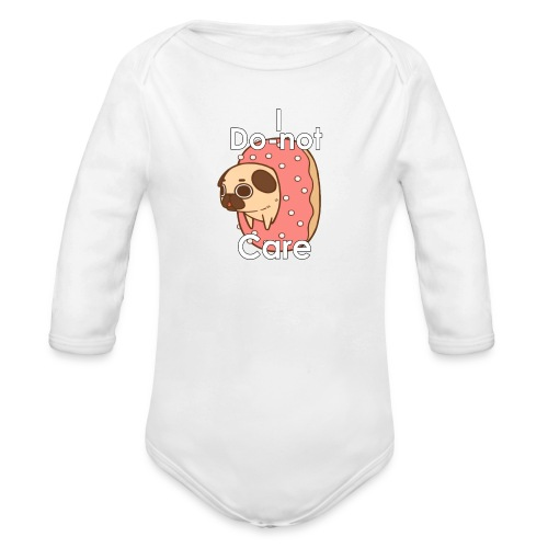i do nut care tshirt - Baby bio-rompertje met lange mouwen