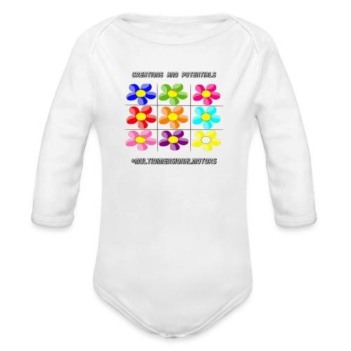 logo of my #MultiDimensionalMotors blog - Body ecologico per neonato a manica lunga
