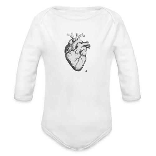 coeurhumain - Body Bébé bio manches longues