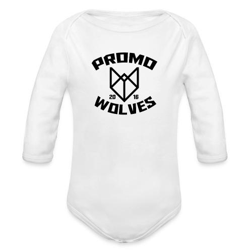 Big Promowolves longsleev - Baby bio-rompertje met lange mouwen