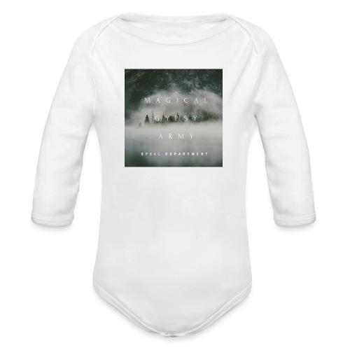 MAGICAL GYPSY ARMY SPELL - Organic Longsleeve Baby Bodysuit