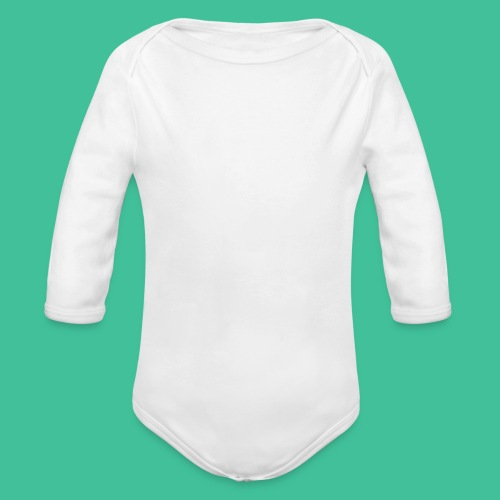 Velo Icon - Charcoal Clr - Organic Longsleeve Baby Bodysuit