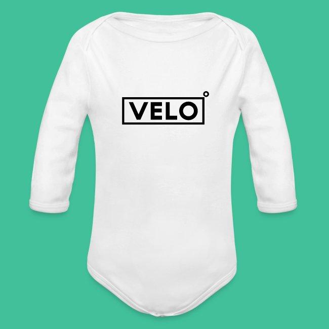 Velo Icon Blk - Long Sleeve Baseball Shirt W/N Clr