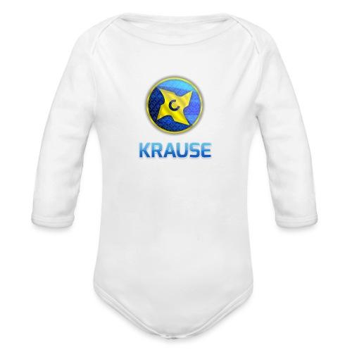 Krause shirt - Langærmet babybody, økologisk bomuld