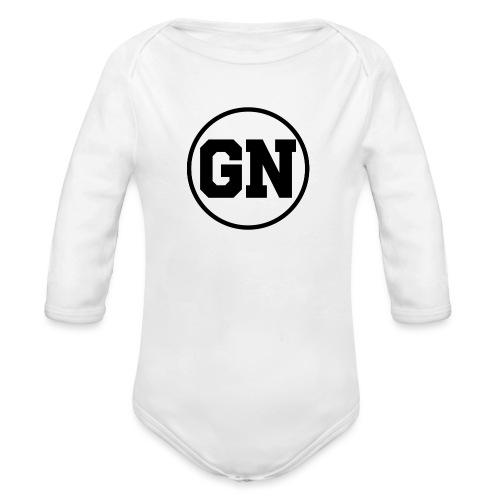 GainsNation old school - Ekologisk långärmad babybody