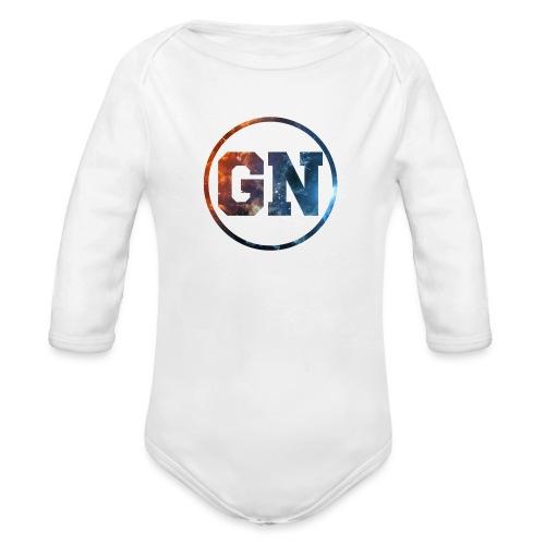 GainsNation galaxy - Ekologisk långärmad babybody