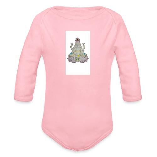 lotus - Body orgánico de manga larga para bebé