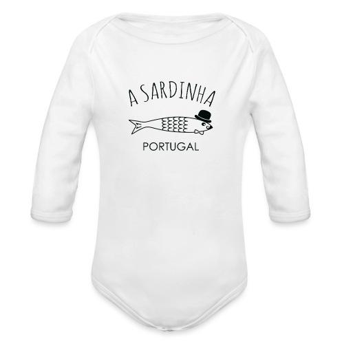A Sardinha - Portugal - Body Bébé bio manches longues