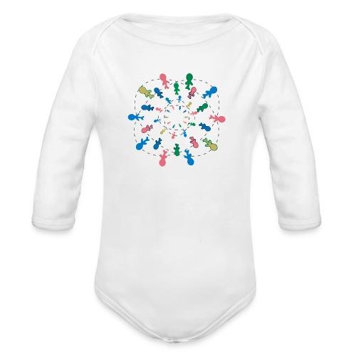 People of the word ( Type 1) - Body ecologico per neonato a manica lunga
