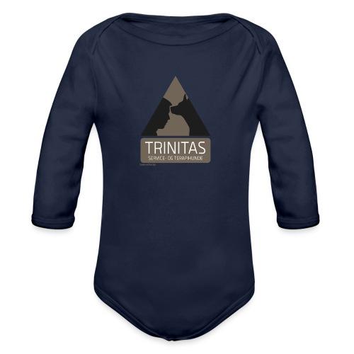 Trinitas musemåtte - Langærmet babybody, økologisk bomuld