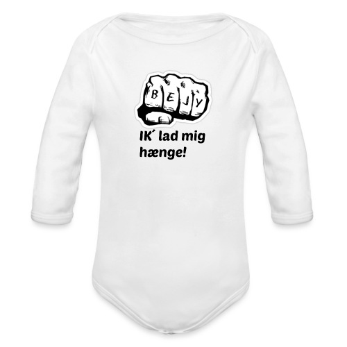 BEJY SHOP - Langærmet babybody, økologisk bomuld